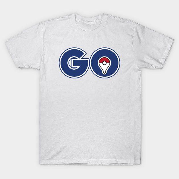 Pokémon GO – GO PIN by PokeGO T-Shirt
