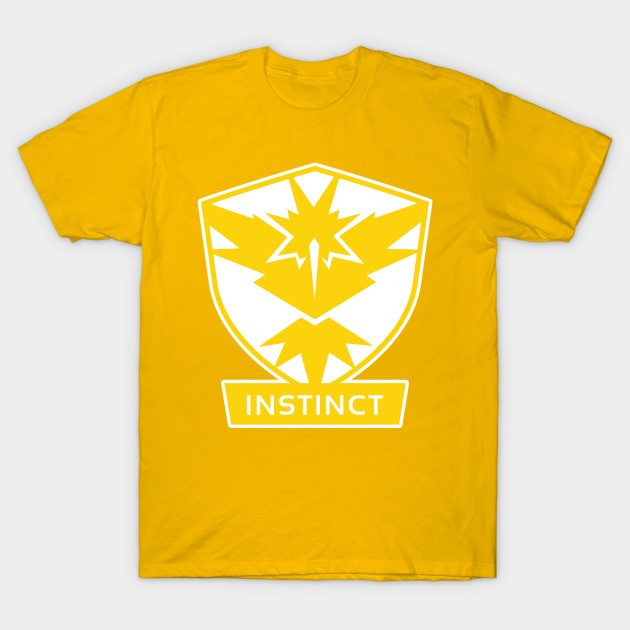Pokémon GO Team Instinct by PokeGO T-Shirt