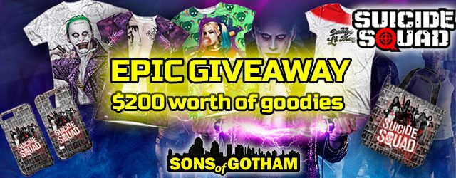 Suicide Squad Giveaway! Want in, puddin'?