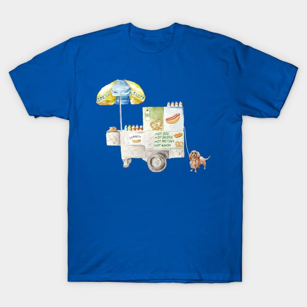 Get your new york hot dogs here! T-Shirt