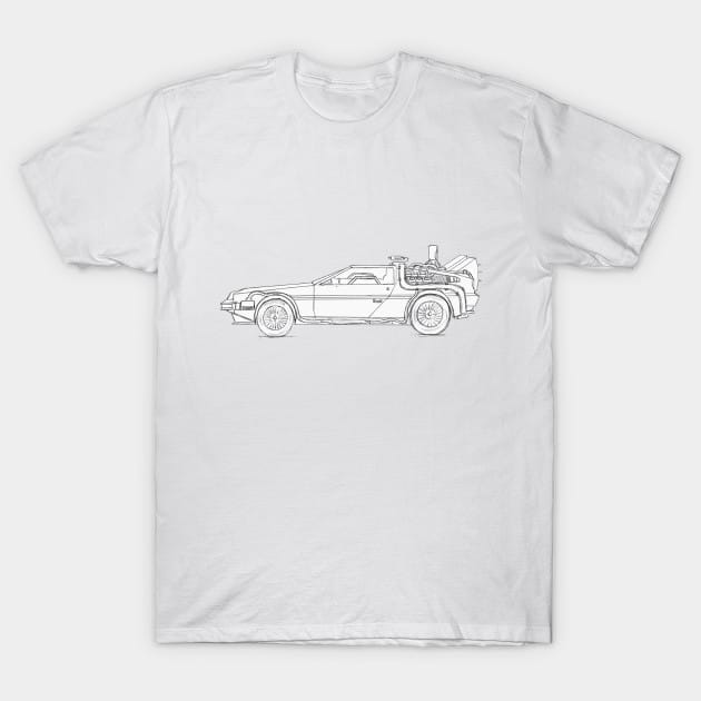 Great Scott! It's a DeLorean! T-Shirt