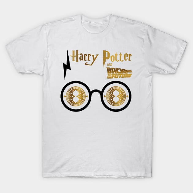 Harry Potter And Back To The Future T-Shirt