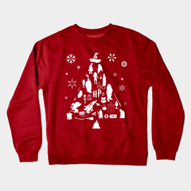 Harry Potter Christmas Tree Jumper
