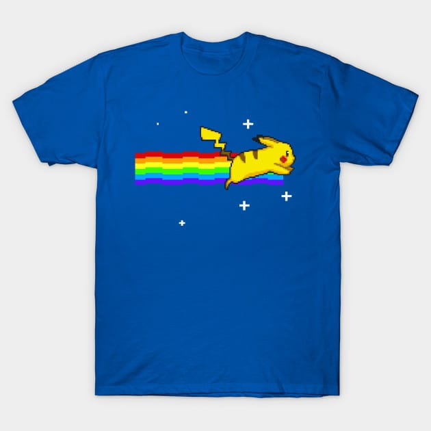 Pikachu Nyan Cat T-Shirt