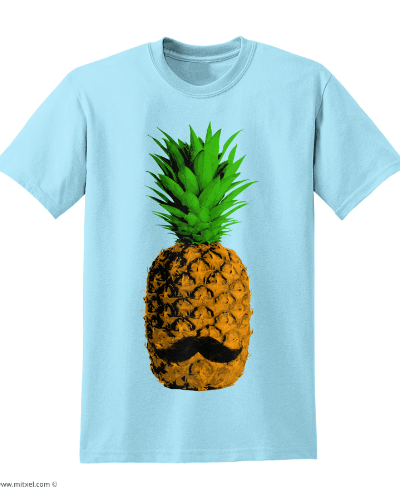 Pineapple Moustache