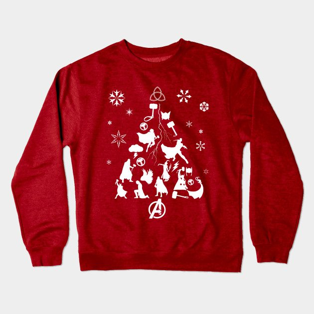 Xmas Tree Thor Christmas Jumper