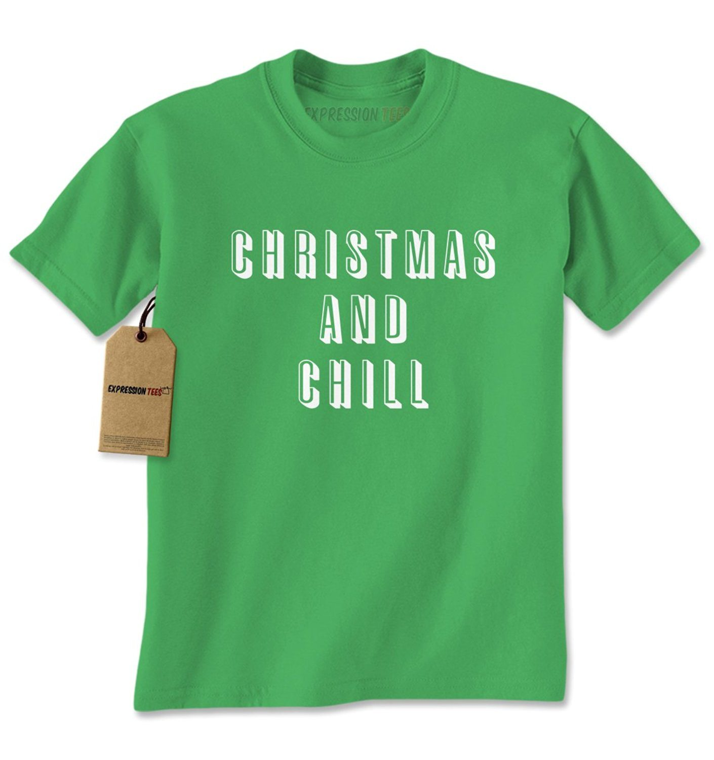 Expression Tees Christmas And Chill Mens