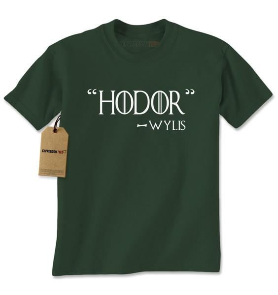 Hodor – Wylis Quote GoT Mens T-shirt