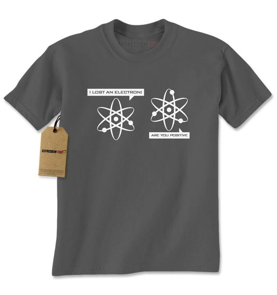 I Lost An Electron Funny Physics Mens T-shirt
