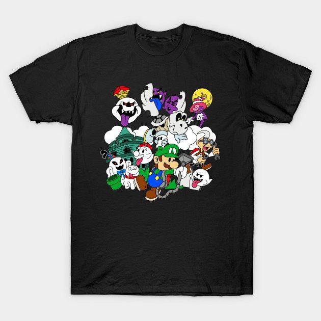 Luigi's Paper Mansion (Color Version) T-Shirt