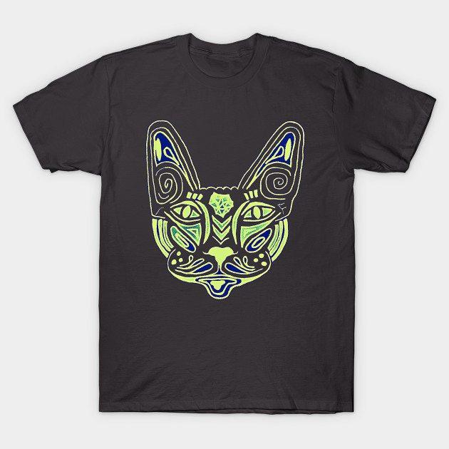 Mandala Cat T-Shirt