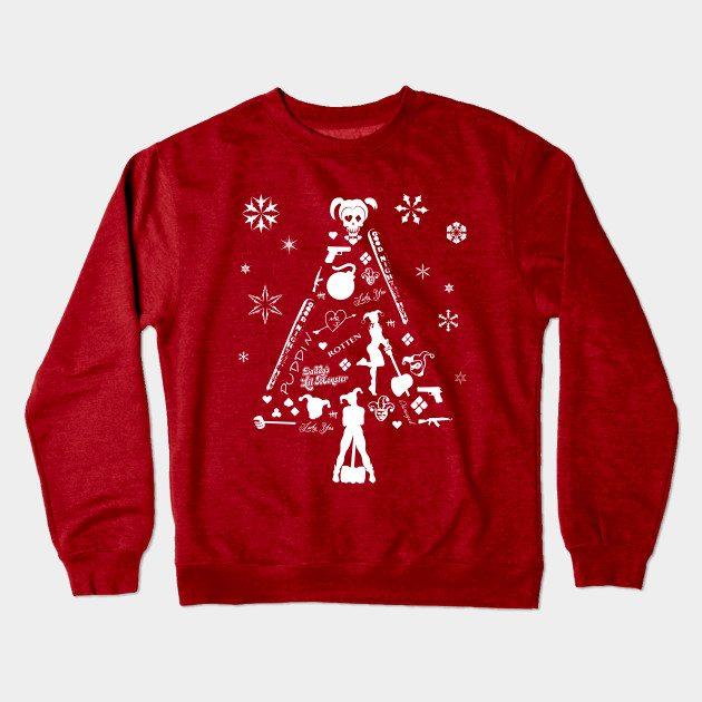 Xmas Tree Harley Quinn Christmas Jumper