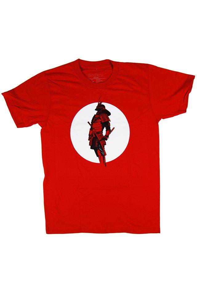 bushido-red-tshirt