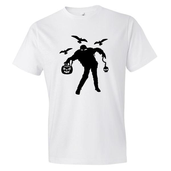 Crazy Man Halloween T Shirt