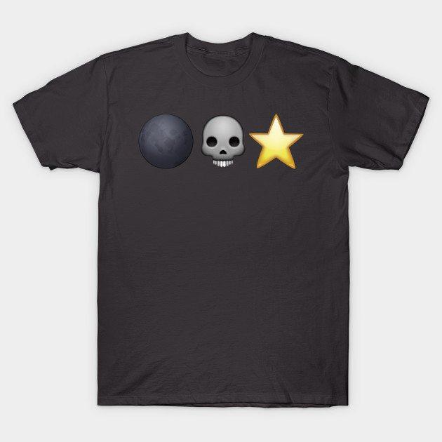 Emoji Death Star T-Shirt