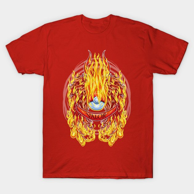Team Valor Wings T-Shirt