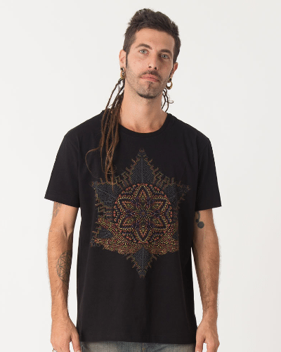 Anahata T-shirt ➟ Black / Grey