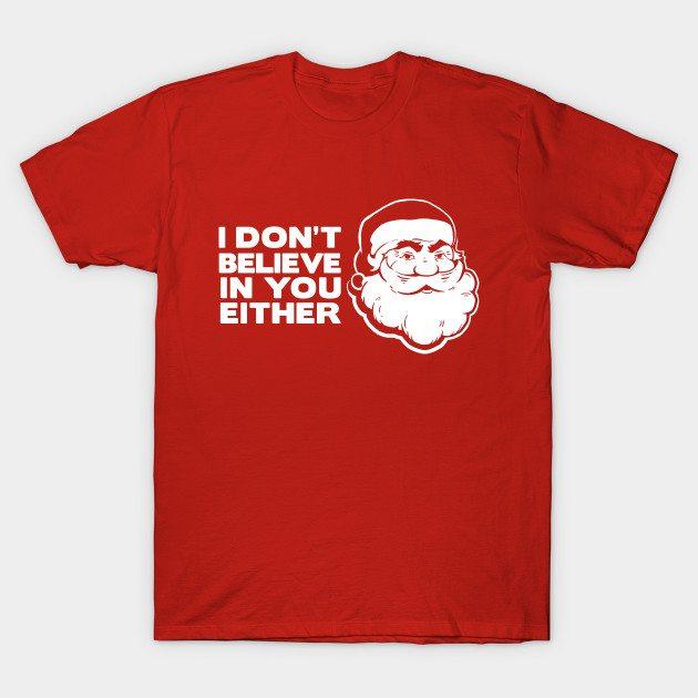 Disbelieving Santa T-Shirt