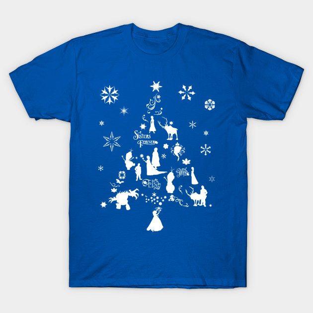 Frozen Xmas Tree T-Shirt