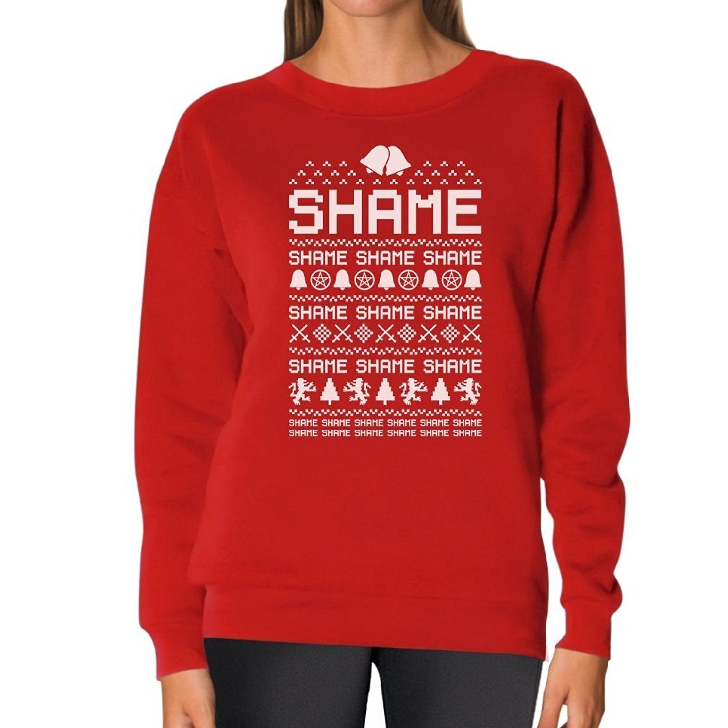 Funny Ugly Christmas Sweater Women Sweatshirt
