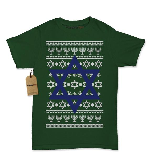 Jewish Star of David -- Hanukkah Shirt