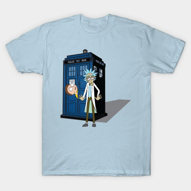 Rick and Morty – Dr Who T-Shirt