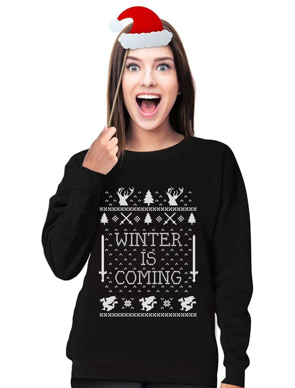 Winter Is Coming Ugly Christmas Sweater Sweatshirt