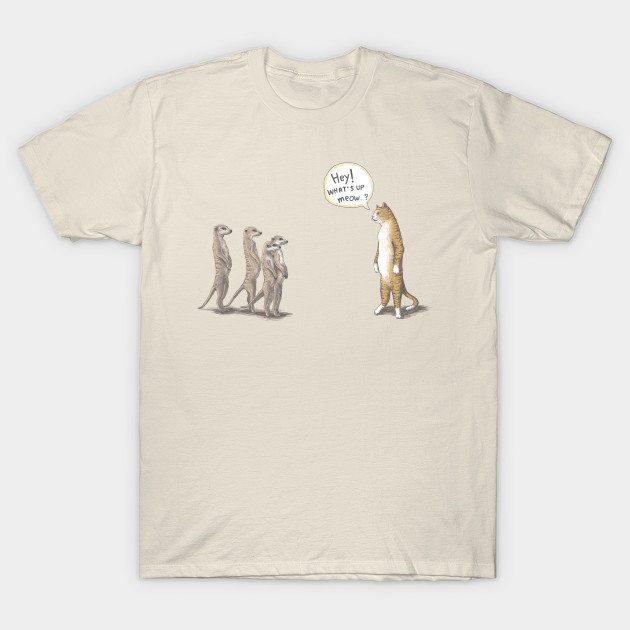 Cat and Meerkat T-Shirt