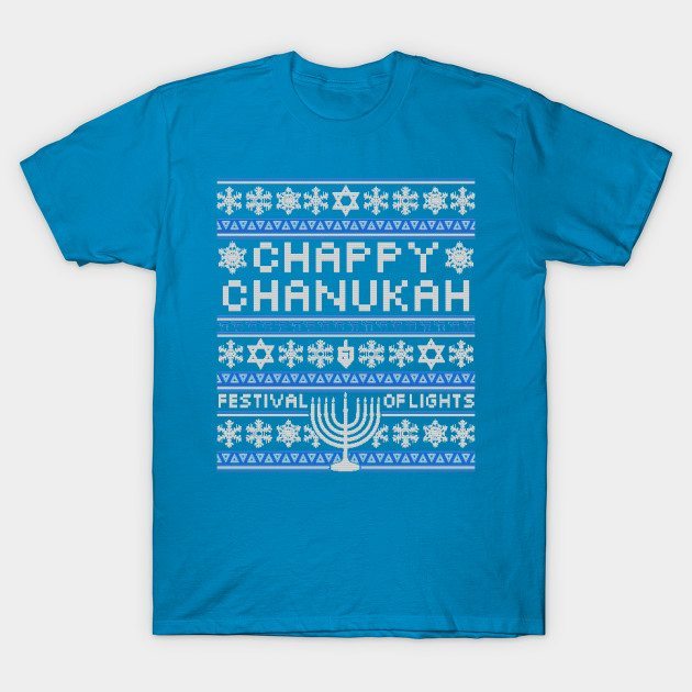 Chappy Chanukah Sweater -- Hanukkah Shirt