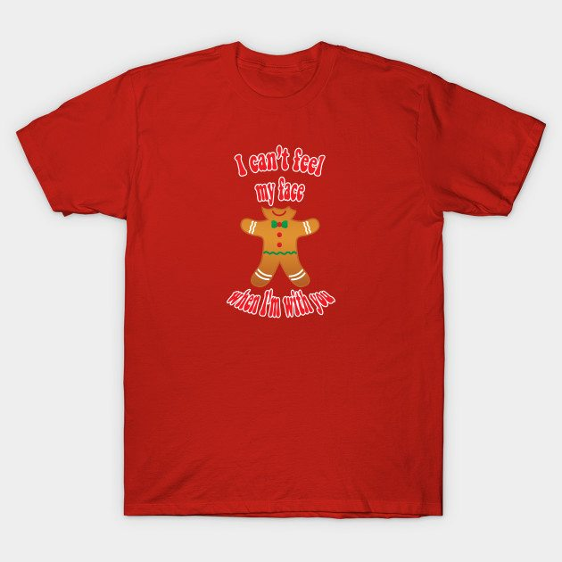 Funny Christmas gingerbread man T-Shirt