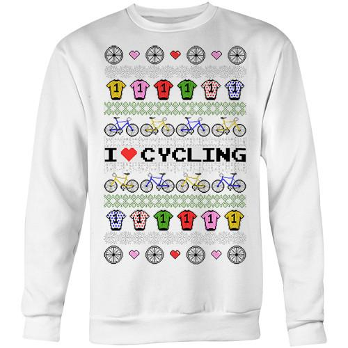 I Love Cycling Sweater
