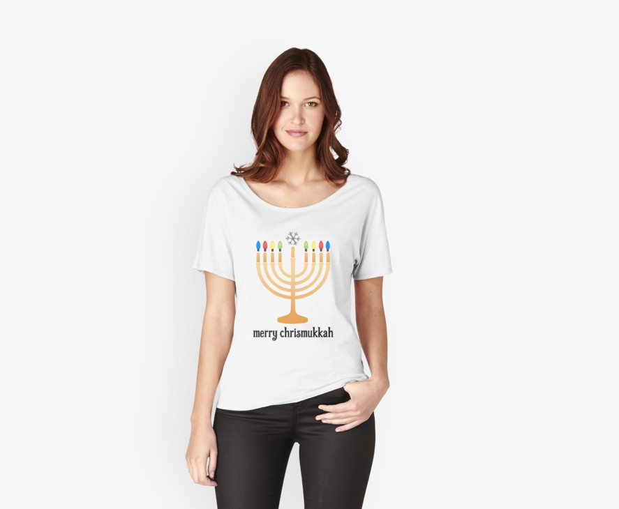 Merry Chrismukkah -- Hanukkah Shirt