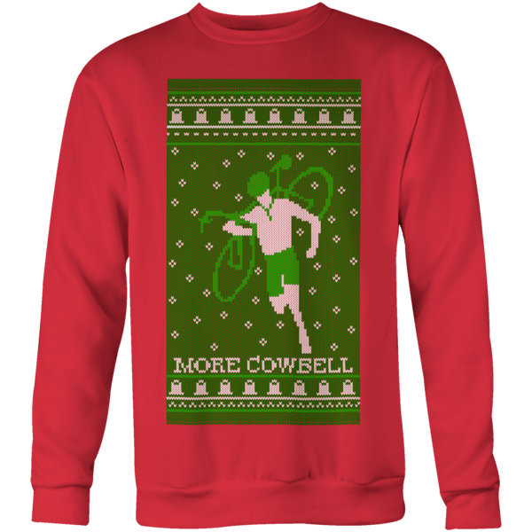 More Cowbell Sweater