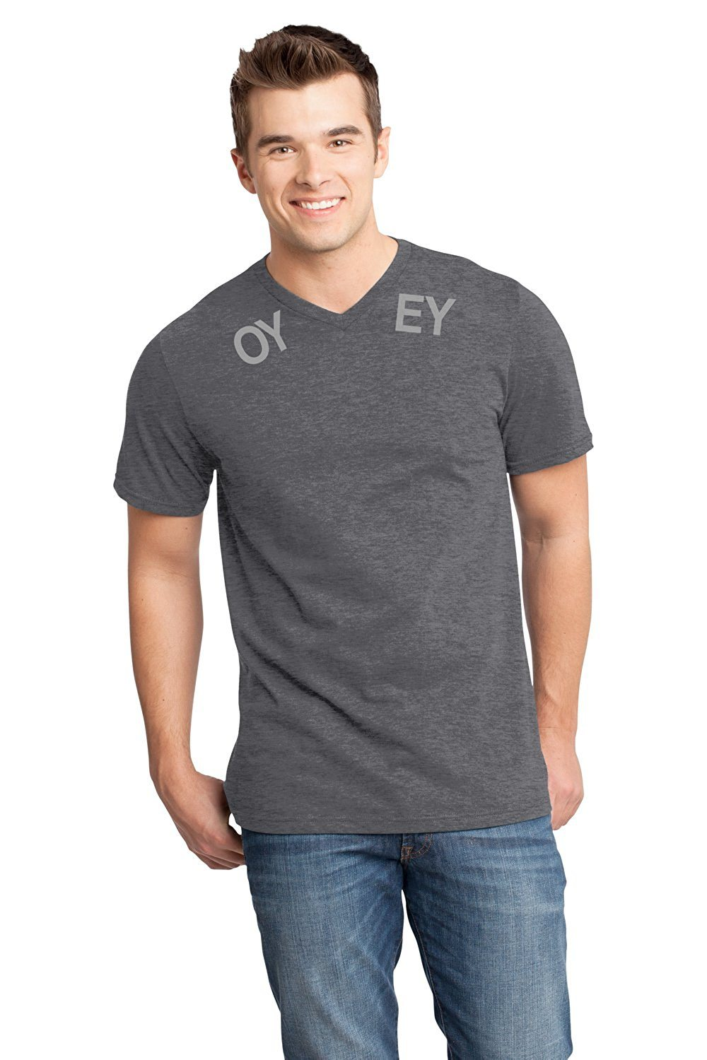 """Oy Vey"" Mens V-Neck"