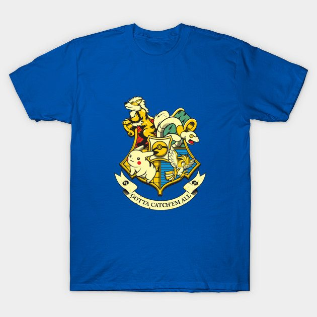 POKEMON HARRY POTTER MASHUP T-Shirt
