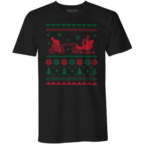 Santas Carbon Sleigh -- Biking Shirt