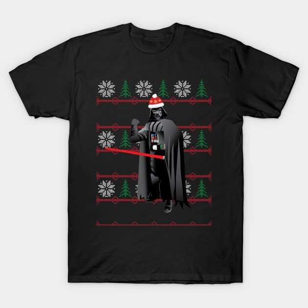 Ugly Christmas Darth Vader T-Shirt