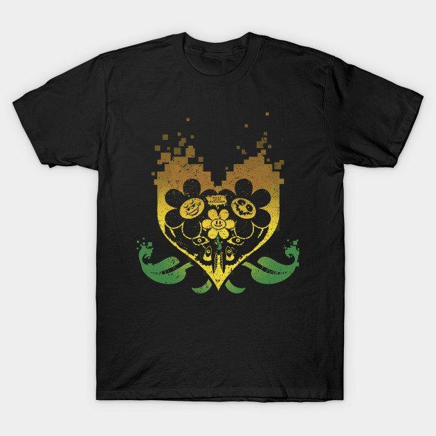 Underheart – Flowey Yellow T-Shirt