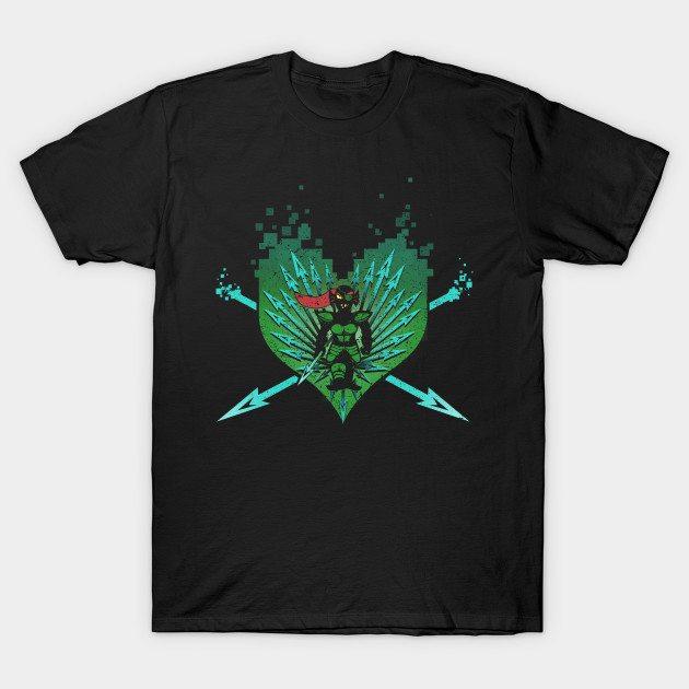 Underheart – Undyne Green T-Shirt