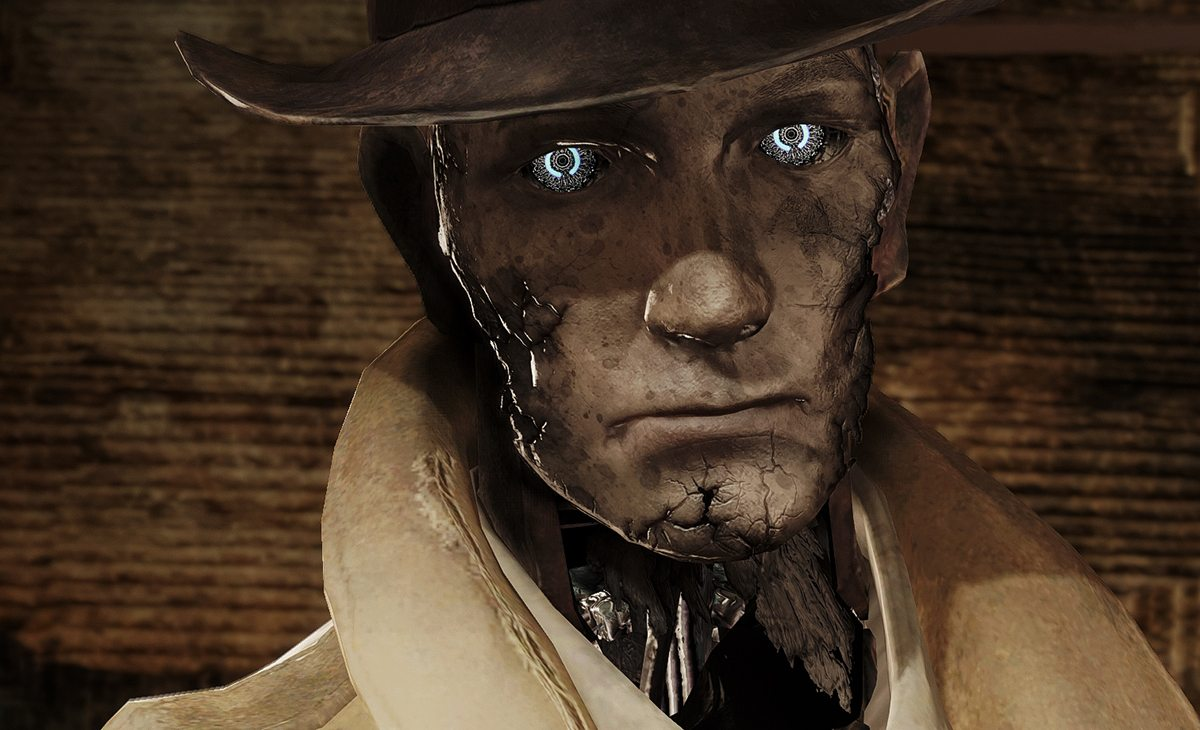 Nick Valentine, the saltiest detective in town. [PHOTO:  PC Gamer]