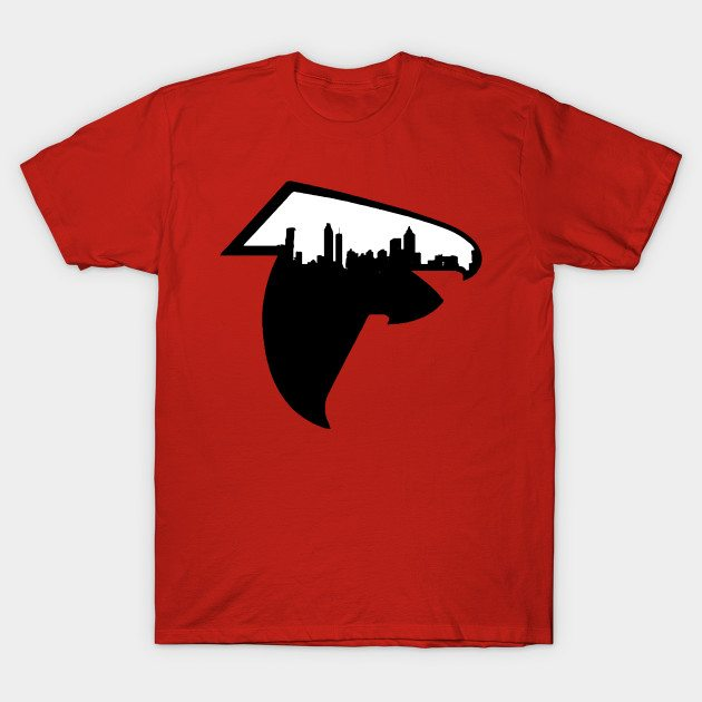 Atlanta Skyline Falcons Logo T-Shirt