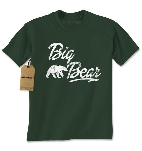 Big Bear Cub Family Mens T-shirt