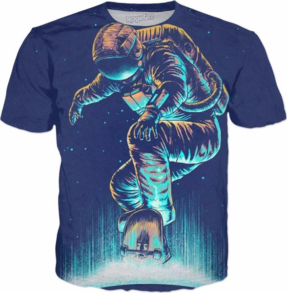 cool space man t shirts
