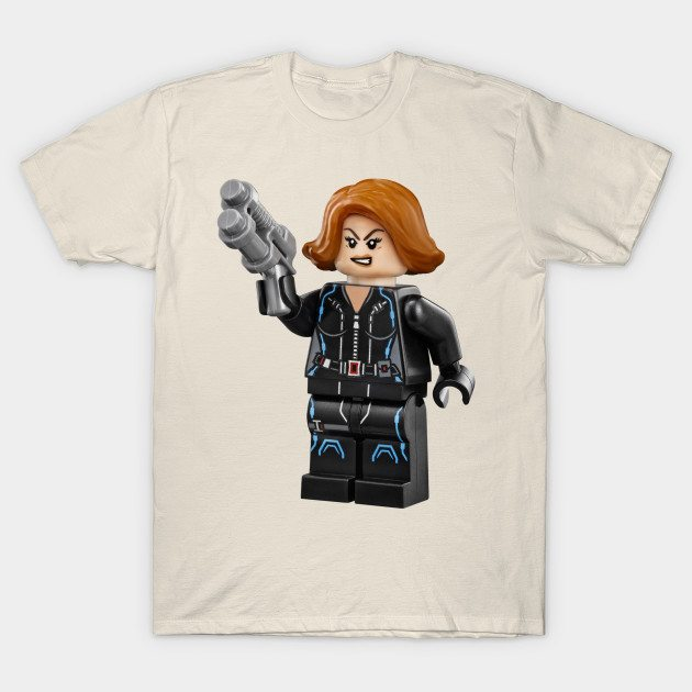 Lego Black Widow T-Shirt