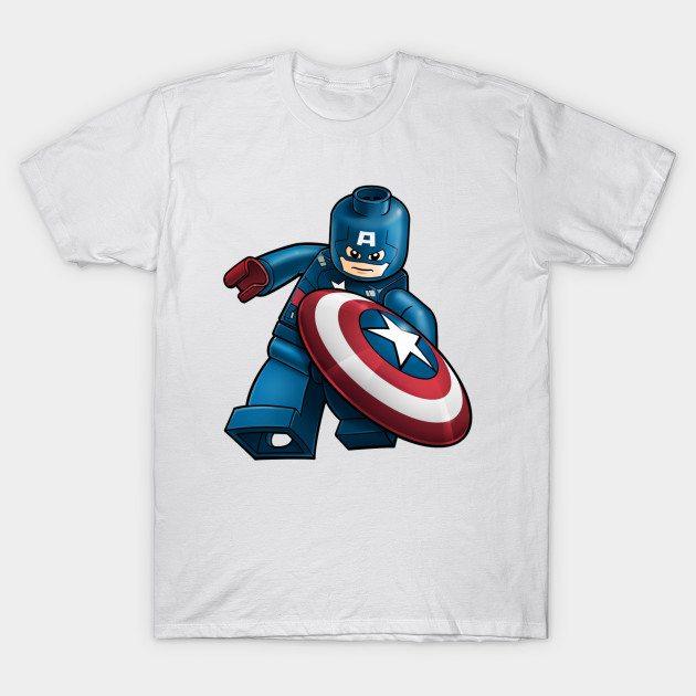 lego captain america T-Shirt