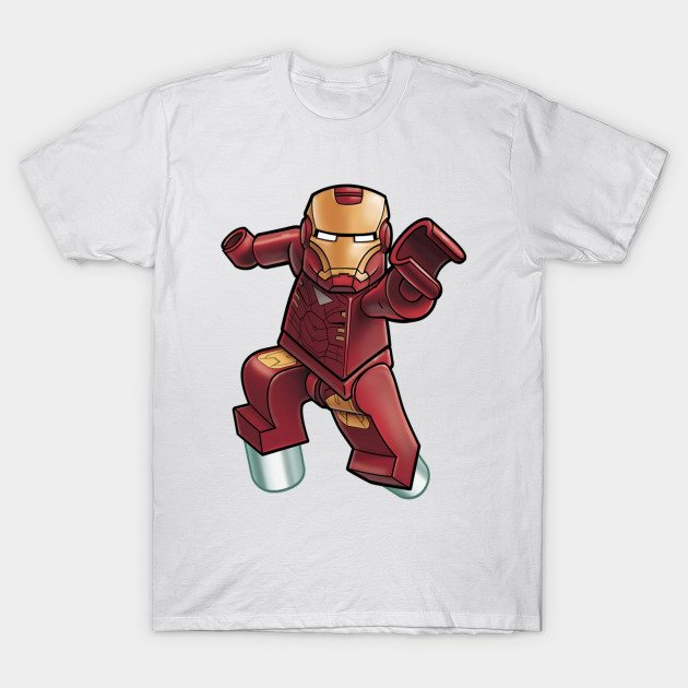 lego iron man T-Shirt