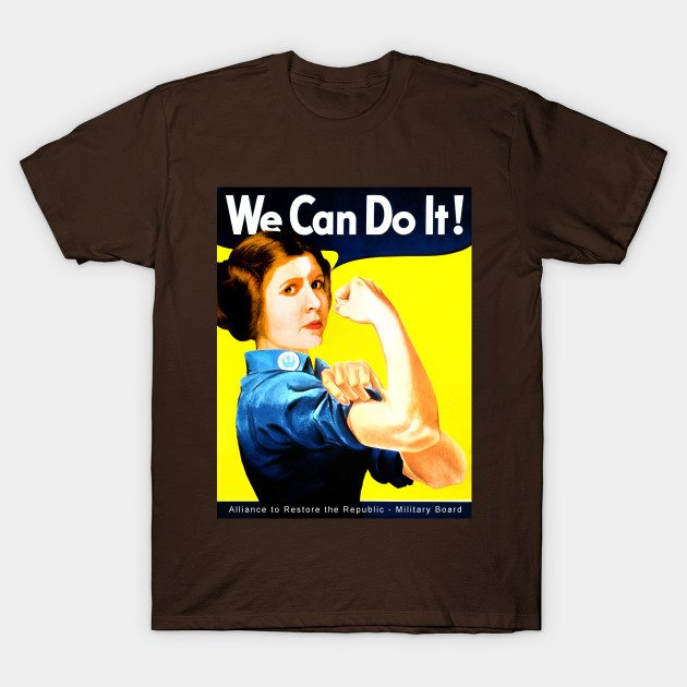 Leia – We Can Do It! T-Shirt
