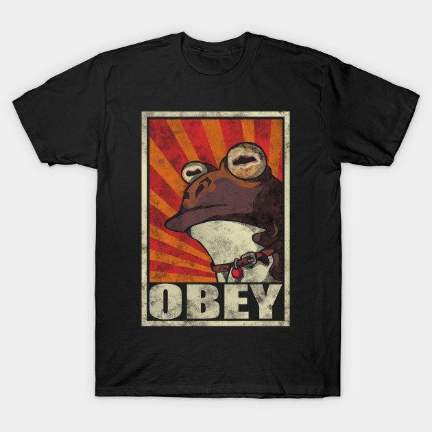 Obey The Hypnotoad! T-Shirt