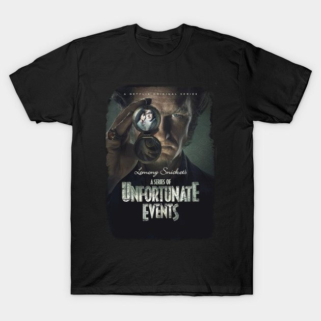 Unfortunate Events Poster T-Shirt