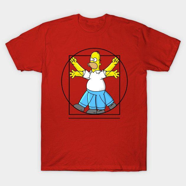 Vitruvian Homer T-Shirt